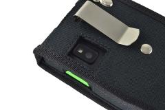 Funda Honeywell ScanPal EDA 50K detalle pinza cinturon orificio camara
