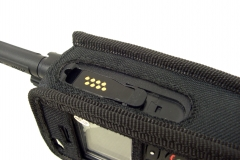 Funda Motorola Tetra MTP3250 MTP3550 detalle vista lateral derecho