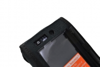 Funda proteccion Datalogic Skorpio X3 X4 vista botones frontales portastylus