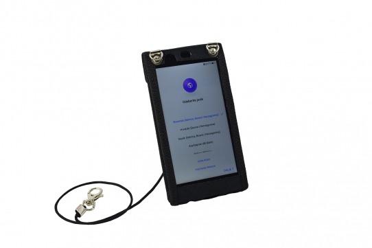 Funda-protectora-Huawei-P10-vista-frontal-cordon-seguridad