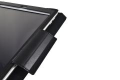Funda tablet iPad nylon industrial detalle lengueta sujección tablet