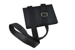 Funda tablet iPad nylon industrial vista cerrada bandolera