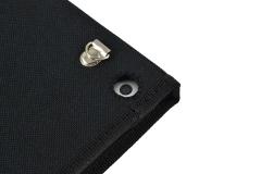 Funda tablet iPad nylon industrial detalle orificios camara trasera