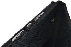 Funda iPad industrial detalle orificios sonido carga