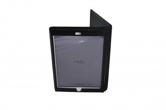 Funda tablet iPad nylon industrial vista plegada vertical