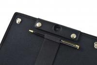 Funda tablet Lenovo Tab3 10 plus detalle camara trasera portastylus