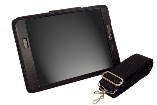 Funda Tablet Samsung Galaxy TAB A vista frontal con bandolera