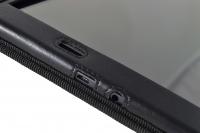 Funda tablet samsung galaxy tab a6 sm-t580 detalle orificio micro usb auriculares