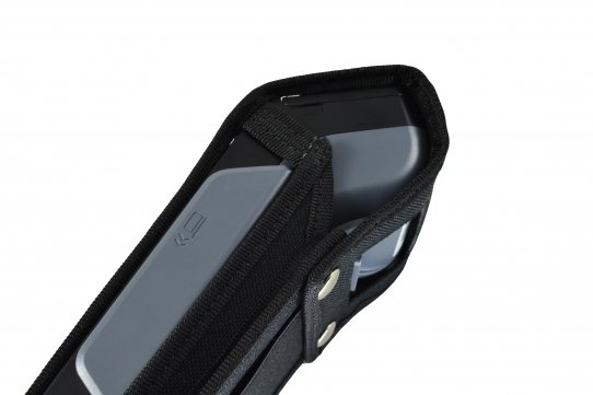 Funda Verifone X990 detalle lateral derecho