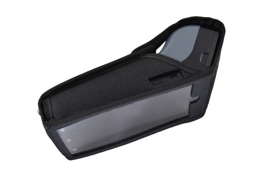 Funda Verifone X990 vista lateral plastico pantalla