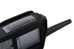 Funda walkie talkie radio emisora tetrapol tph900 airbus lateral izquierdo