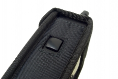 Funda walkie talkie radio emisora vista lateral izquierdo
