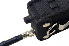 Funda walkie talkie radio emisora vista lateral