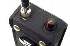 Funda walkie talkie radio emisora vista superior