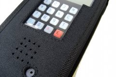 Funda walkie talkie radio emisora vista teclado