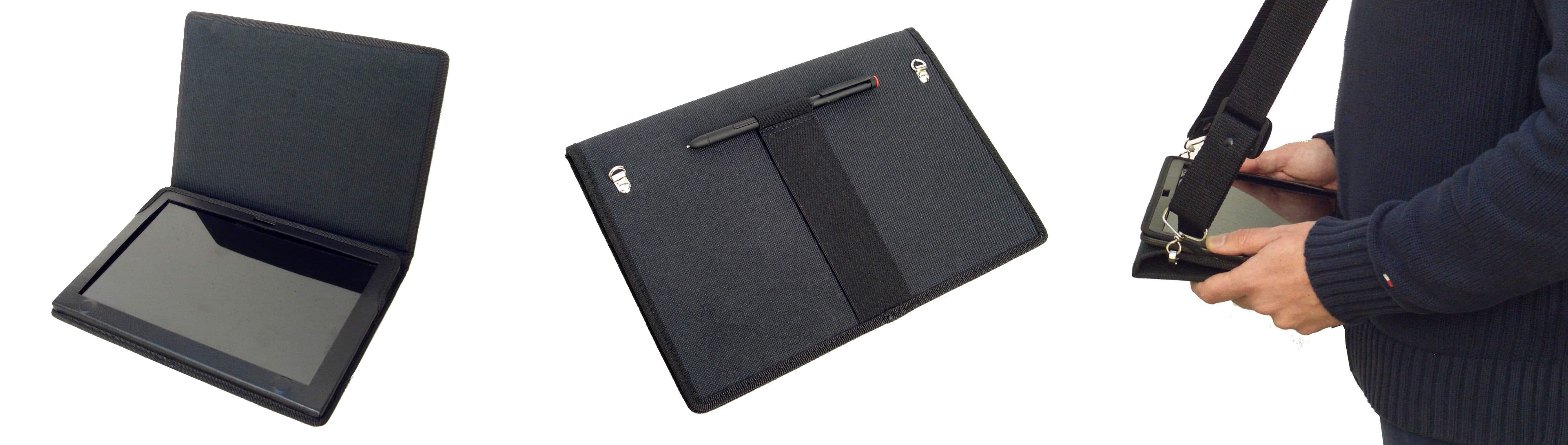 Funda Tablet Lenovo ThinkPad Helix Nylon fabricada para uso industrial o comercial
